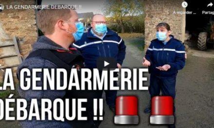 Etienne Agriyoutubeurre reçoit la visite de la gendarmerie
